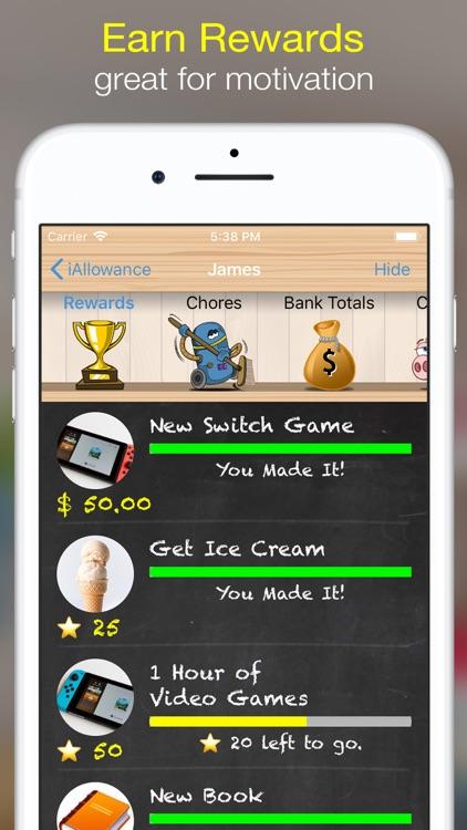iAllowance (Chores Allowances) screenshot-3