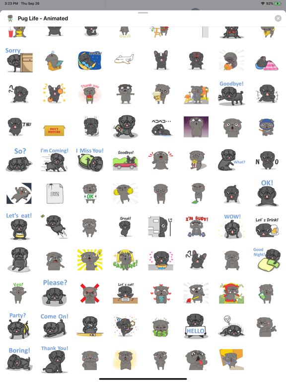 Pug Life - Animated screenshot 9