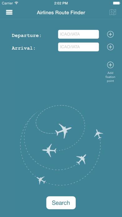 Screenshot #1 pour AirRoutes
