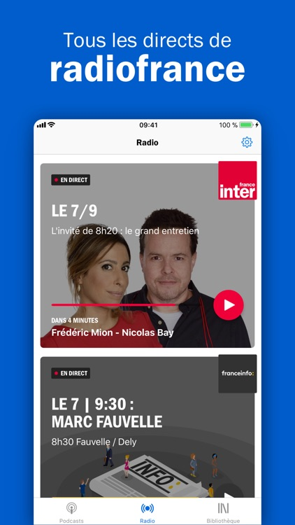 Radio France - podcasts, infos