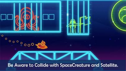 Take Me To Mars -glow stickman screenshot one