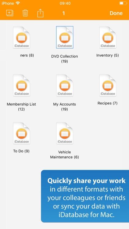 iDatabase screenshot-9