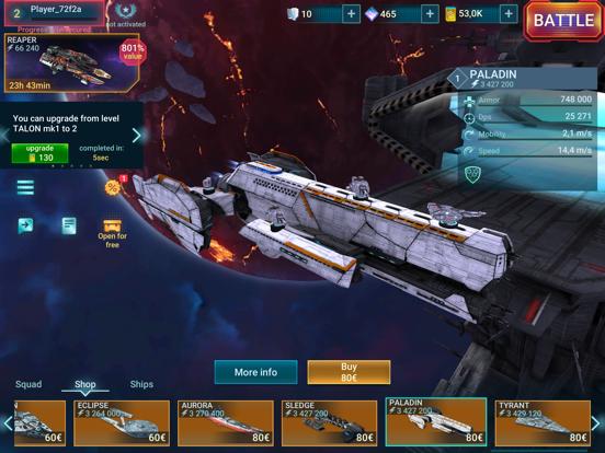 Space Armada: Galaxy Wars screenshot 17