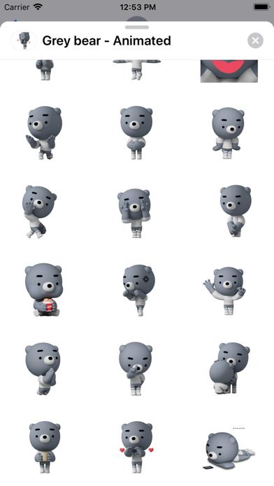 Grey bear - Animated screenshot 2