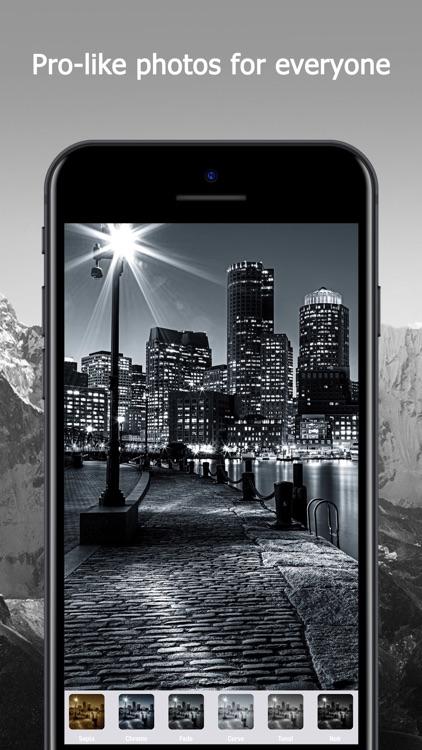 Black & White Retro Pic Editor