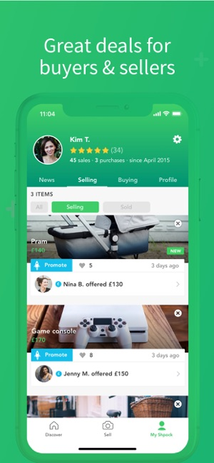 529ec40da4 Shpock: Sell, Buy, Classifieds on the App Store