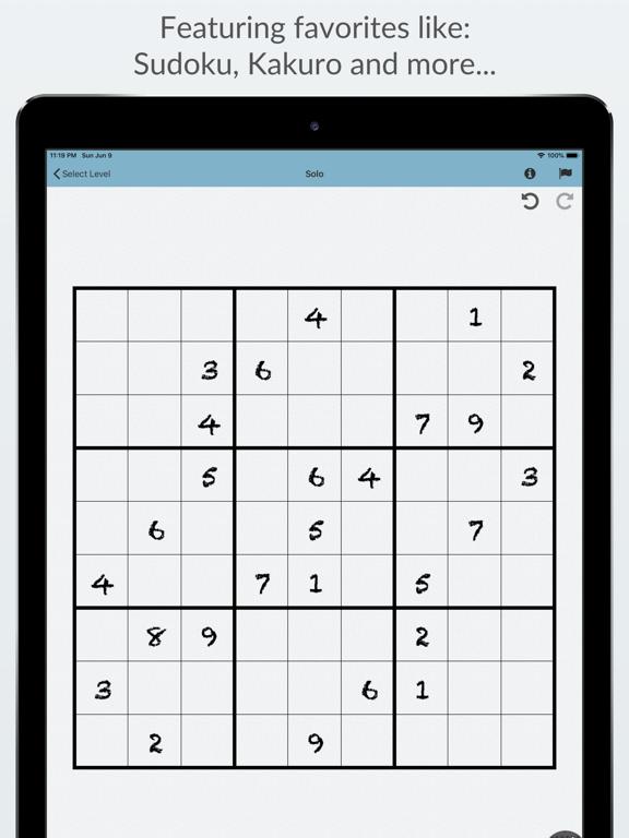 Genius Puzzles screenshot