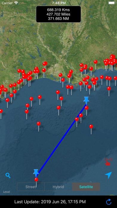 Buoy Stations Feed: NOAA(NDBC) screenshot four