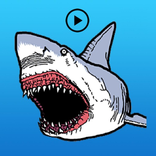 Animated Ferocious White Shark
