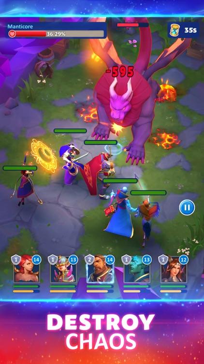 Magic Wars: Army of Chaos screenshot-5