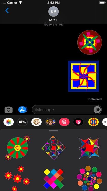 Kaleidos Stickers screenshot-7