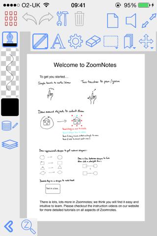 ZoomNotes - náhled