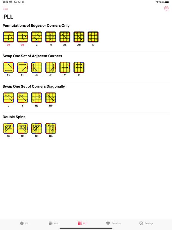 Cube CFOP Screenshots