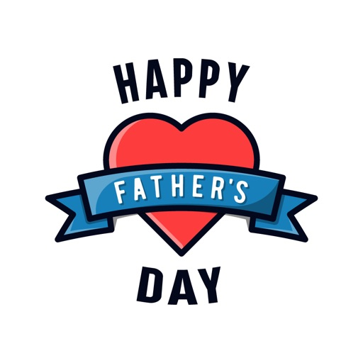 Fathers Day Greetings for Dad app logo