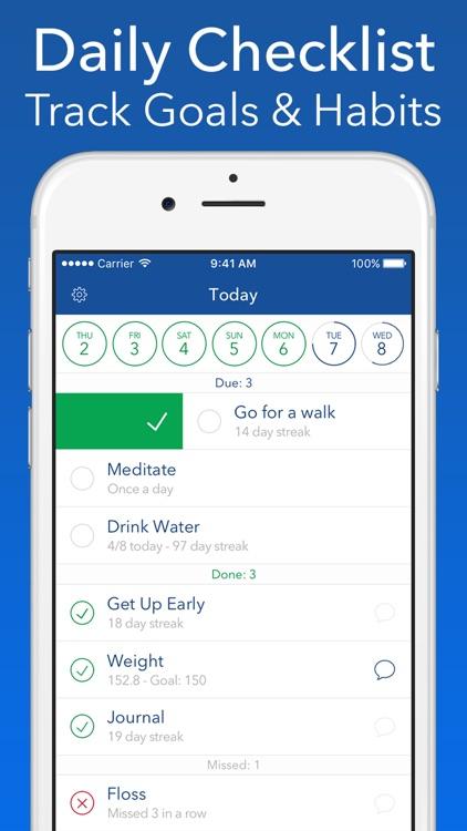 Strides: Habit Tracker screenshot-3