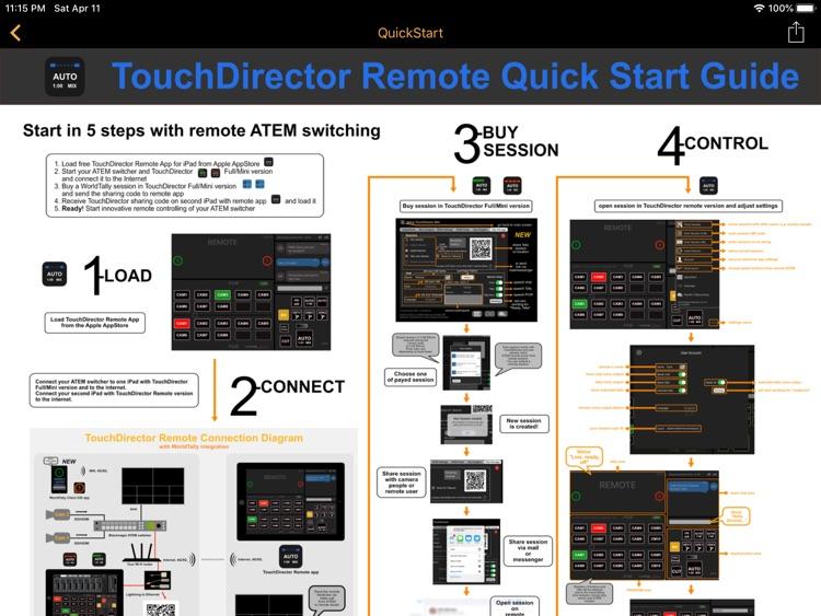 TouchDirector Remote screenshot-7