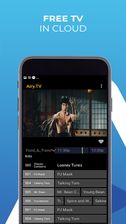 Airy TV & Live Movie Streaming