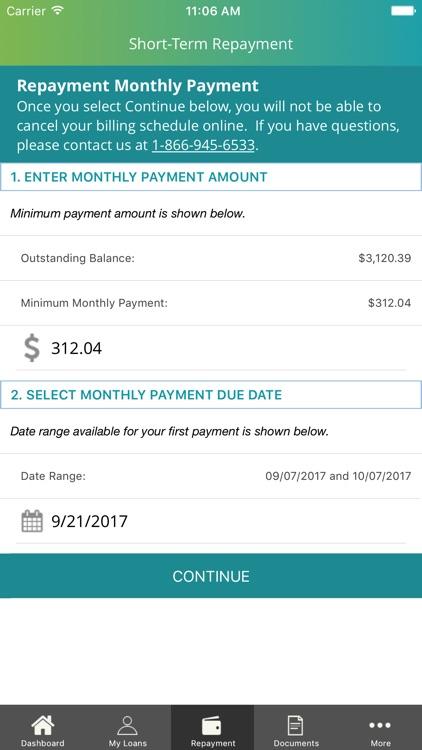 ECMC Borrower Access screenshot-4