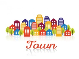 The PlaceInTownPTA is a small sticker, which are show the 50 Place In Town PTA sticker in cartoon