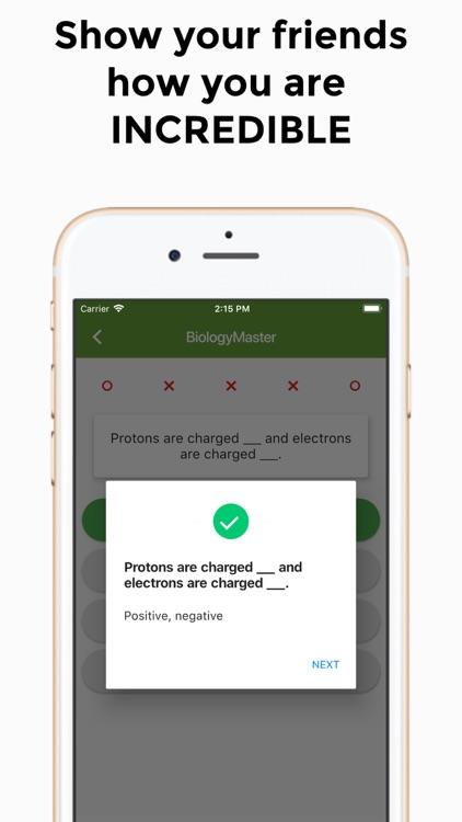 BiologyMaster - Basic Biology screenshot-3