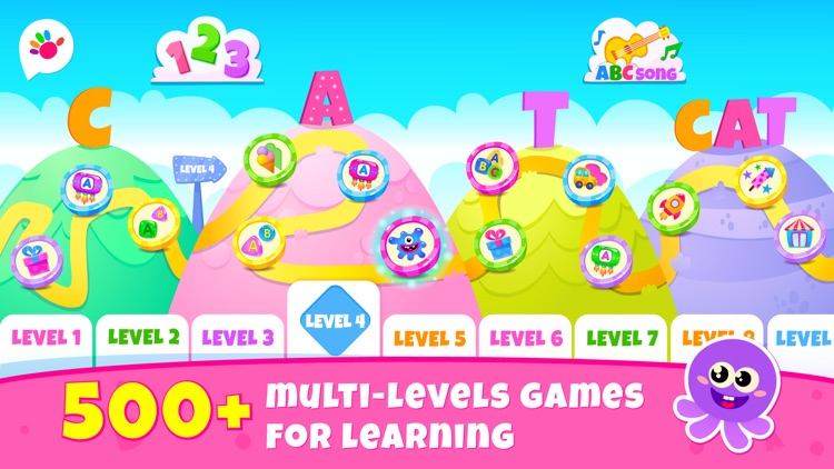 ABC Games for Kids to Reading screenshot-0