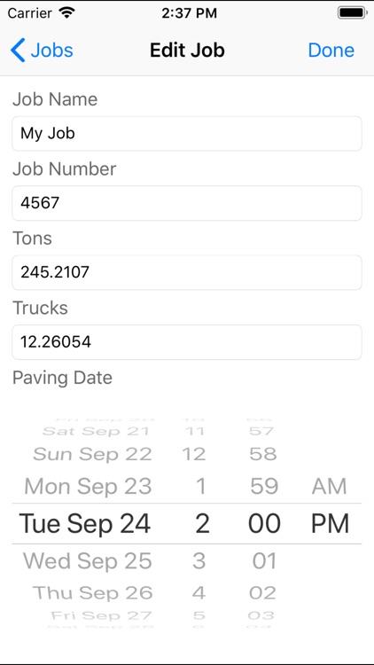 Asphalt Calculator-Advanced screenshot-6