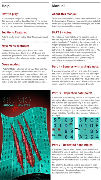 Screenshot for Sudoku 16x16 Monster in Peru App Store