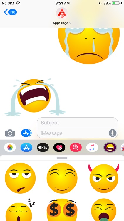 Emoji Me - Expressive Stickers screenshot-6