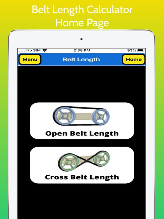 Belt Length Calculator Pro screenshot 9