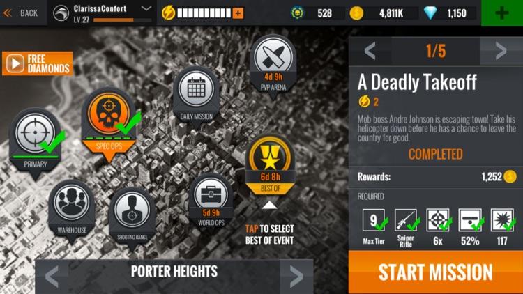 Sniper 3D: Gun Shooting Games screenshot-8