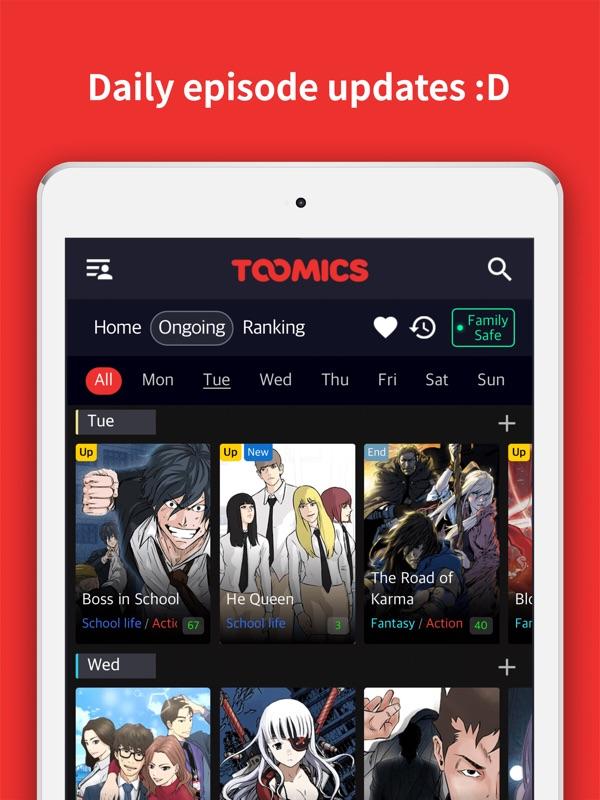 Toomics Unlimited Comics Online Game Hack And Cheat Gehack Com