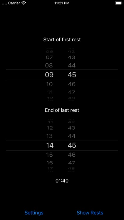 Pausenrechner screenshot-3