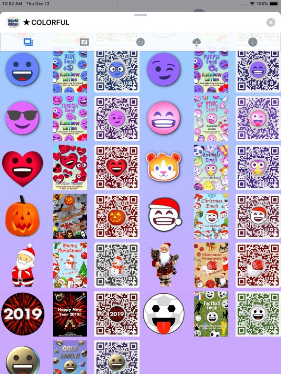 Colorful Stickers and Emoji screenshot 14