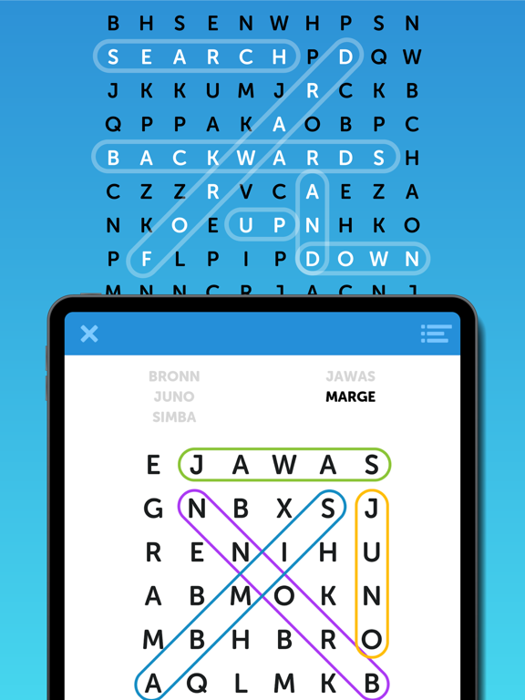 Simple Word Search Puzzles screenshot 7