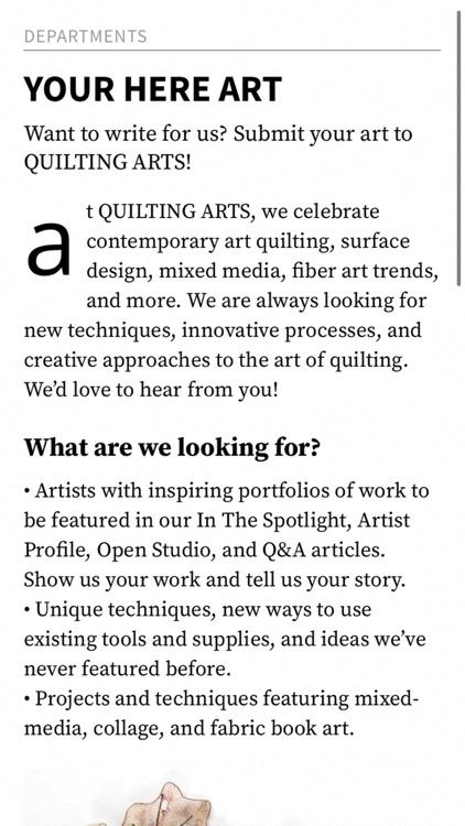 Quilting Arts Magazine screenshot-5