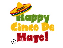 Happy Cinco De Mayo Sticker