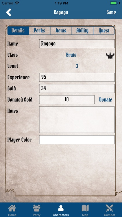 Gloomhaven Campaign Tracker screenshot-3