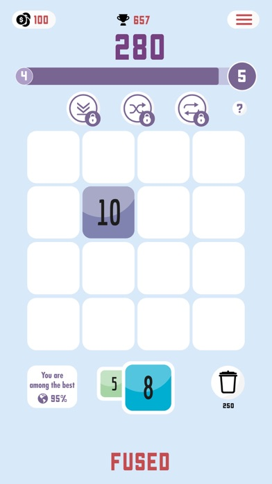 Fused: Number Puzzle screenshot 2