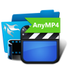 AnyMP4 Studio - 1-Click Video Converter artwork