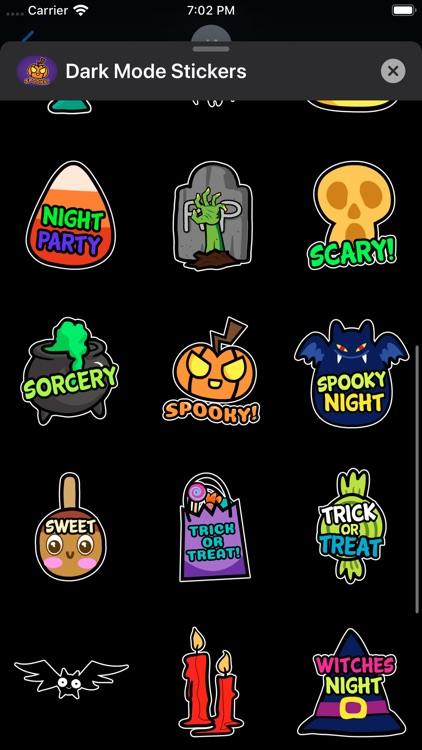 Animated Halloween Stickers ⋆ screenshot-4