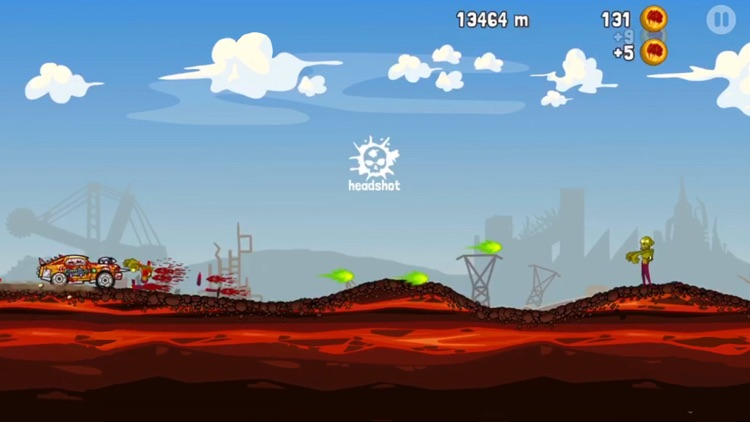 Zombie Road Trip! screenshot-3
