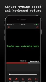 Typewriter: Typing Video Maker iphone images