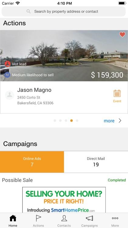 SmartZip CheckIn App