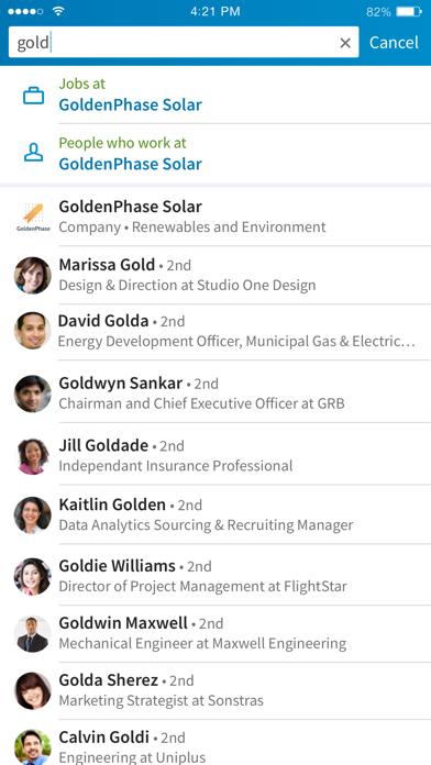 Screenshot for LinkedIn: Network & Job Search in New Zealand App Store