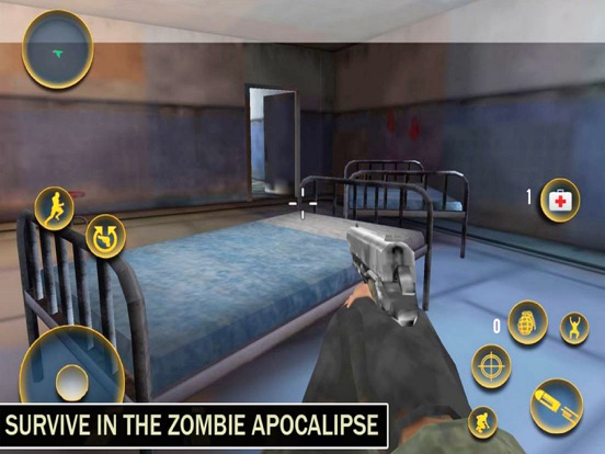 Ghosht House: Zombies Target-ipad-2