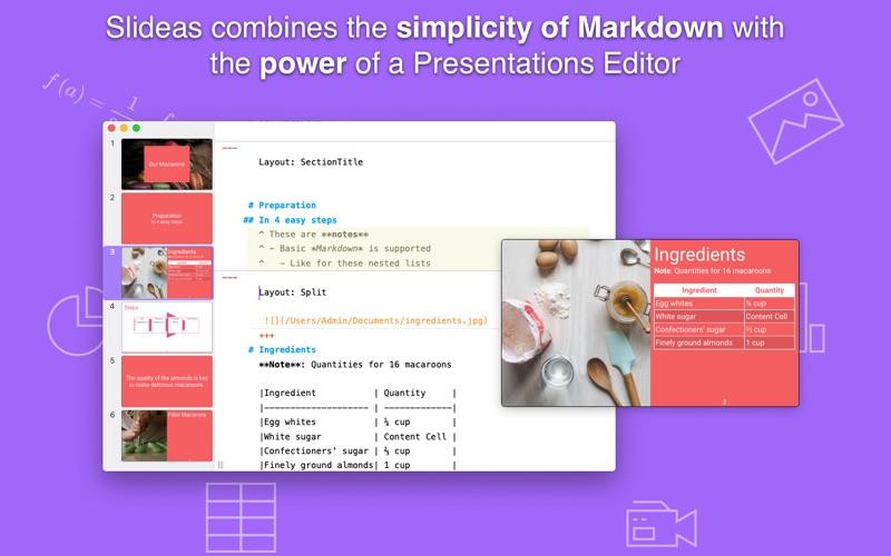 Slideas- Markdown Presentation for Mac