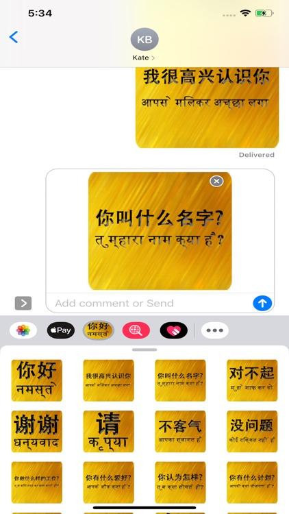 Chinese Hindi screenshot-4
