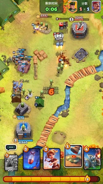 战区英雄-战争题材卡牌策略游戏 screenshot-5