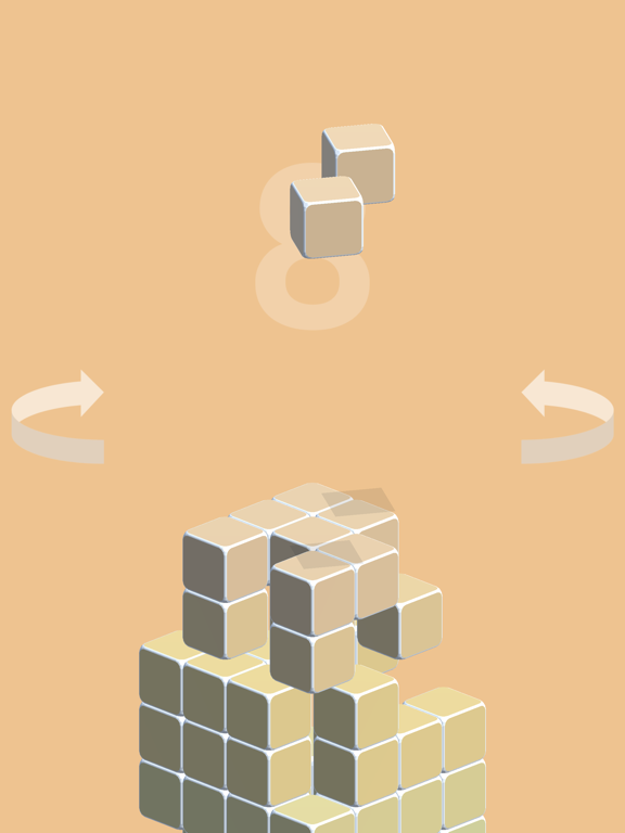 Fall Box: Color Spin Cube Downのおすすめ画像2