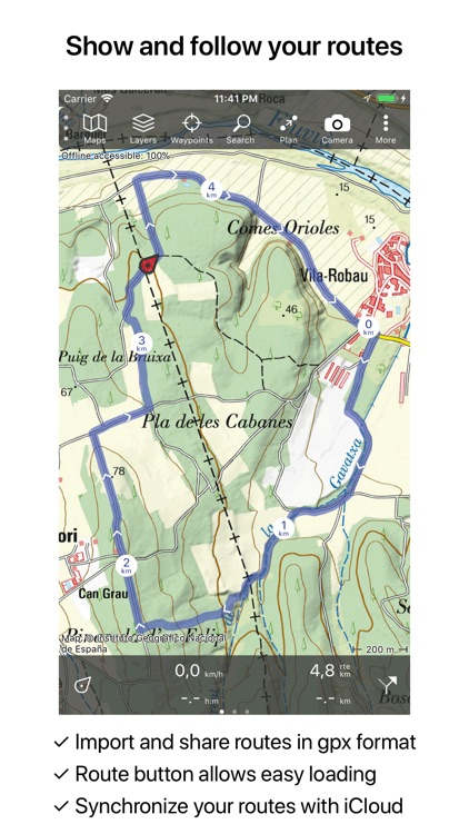 Topo GPS Spain screenshot-2